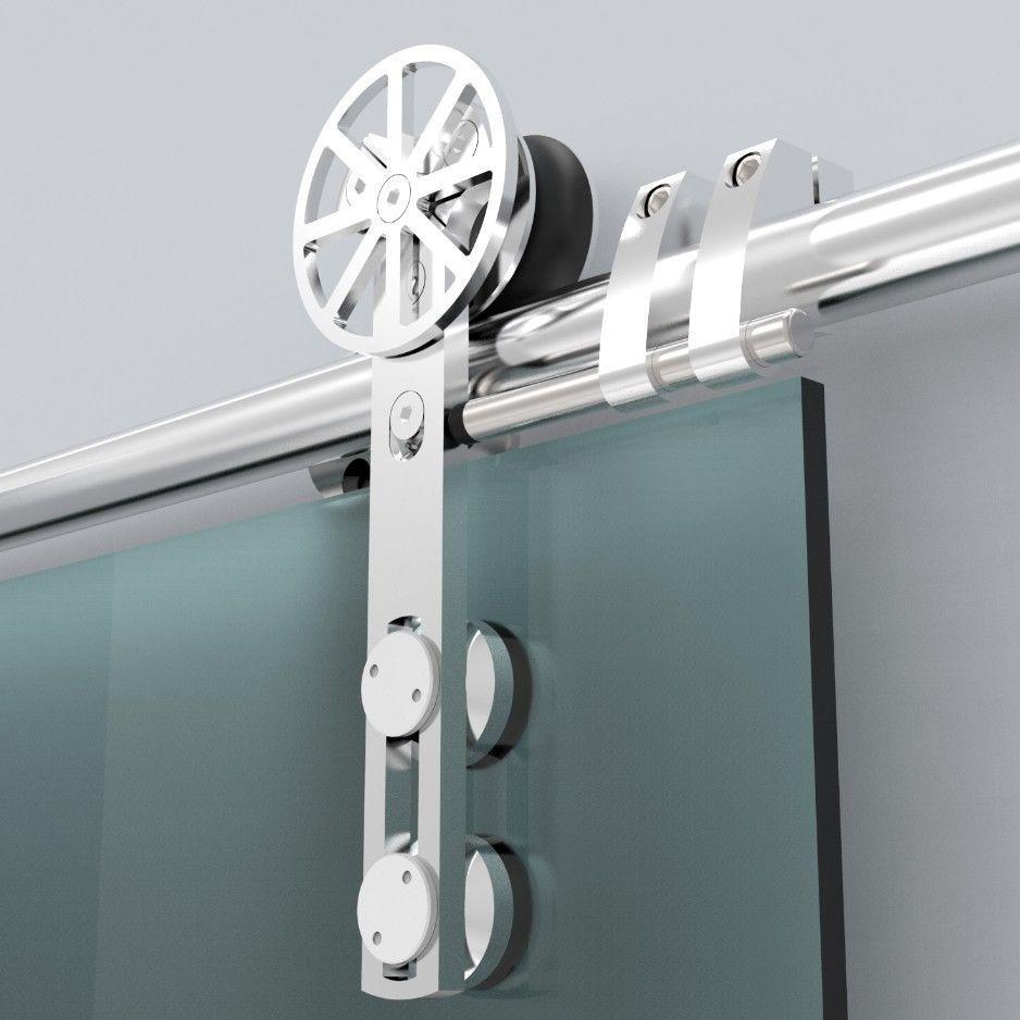 Puertas correderas de cristal en valencia la cristaler a - Puertas de interior correderas de cristal ...