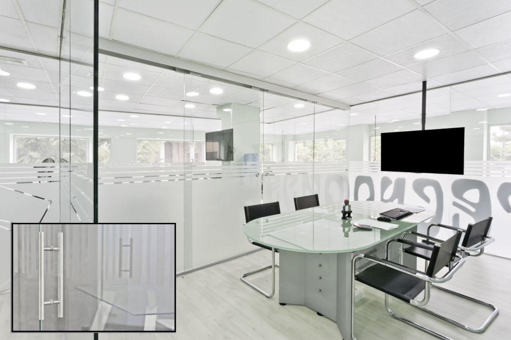 Mamparas de oficina la cristaler a de valencia for Aguas de valencia oficinas